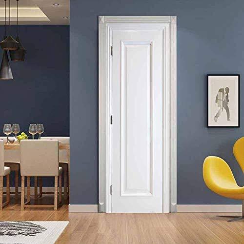 con condena color blanco DT 2000 740340 Tirador para puerta sobre placa de madera lacada