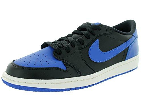 timeless design 5a9b6 ff493 Nike Herren Air Jordan 1 Retro Low Og Turnschuhe, Talla Blau   Schwarz ( Schwarz