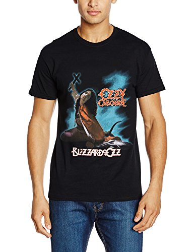 Rockoff Trade Herren T-Shirt Blizzard of Ozz Schwarz