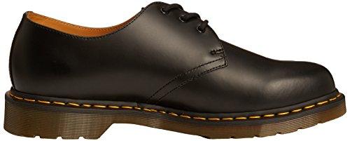 Dr. Martens 1461 59, Unisex Adult Derby Chaussures richelieu à lacets Noir lisse