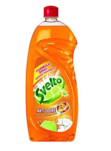 svelto-detersivo-per-stoviglie-sgrassa-facilmente-anti-odore-aceto-e-limone-verde-1000-ml