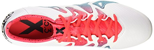 adidas X 15.3 Fg/Ag, Scarpe da Calcio Donna, Multicolore Multicolore (Ftwbla / Verimp / Negbas)