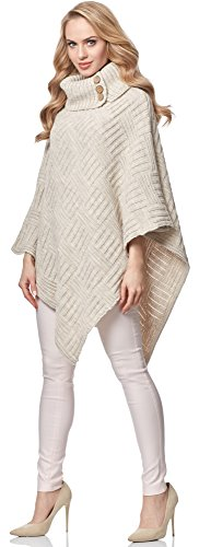 Merry Style Poncho per Donna MSSE0034 Nude
