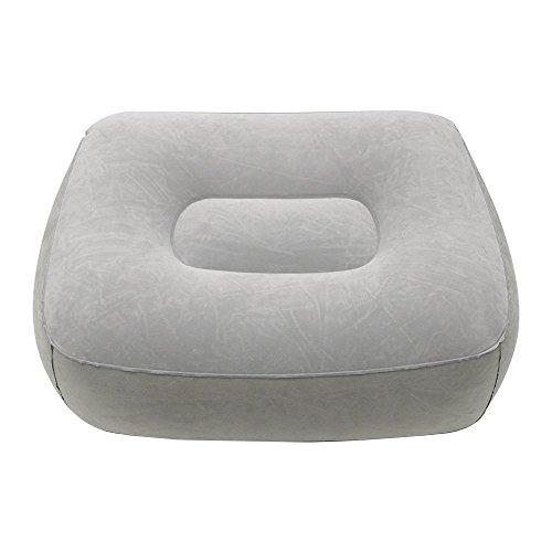 Zedtom sofa pouf gonfiabile poggia piedi sedia cuscino relax viaggio casa gonfiabile poggiapiedi 37*28*17cm