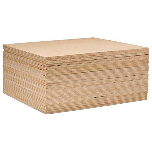 3mm 1/20,3x 20,3x 20,3cm Premium Baltischer Birke Sperrholz-B/BB Grade-flach Blatt von Spechte Natural Color of Unfinished Wood -