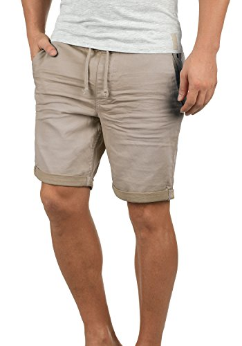 BLEND Dongo Herren Jeans-Shorts kurze Hose Denim aus hochwertiger Baumwollmischung, Größe:L, Farbe:Cloud Grey (75119) (Denim Blend)