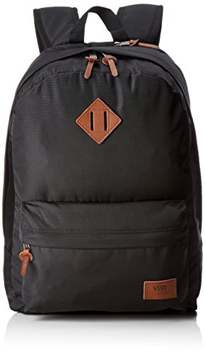 Vans Old Skool Plus Backpack Zaino Casual, 44 Cm, 23 Liters, Nero (True Black)