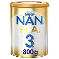 Nestle NAN HA Stage 3 Hypoallergenic Growing Up Milk For Toddlers Powder Tin, 1-3 Years - 800g