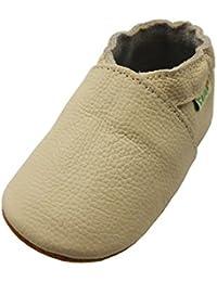 Sayoyo premium cuir souple chaussures de bébé en cuir souple chaussures semelle douce