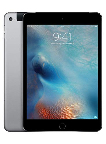 Apple iPad mini 4 (Wi-Fi, Cellular, 128GB) - Gris espacial (Modelo precedente)