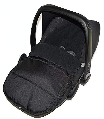 Imagen para Asiento de coche para saco/Cosy Toes Compatible con ABC diseño Cobra Risus-negro jack