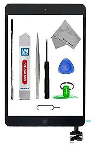 MMOBIEL Digitizer Display Glas für IPAD mini 1/2 (Schwarz) 7.9