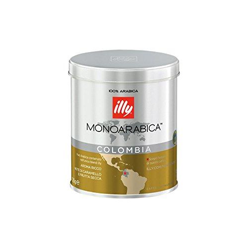 1x ILLY MONOARABICA COLOMBIA (gemahlen / 125g Dose) Illy Schokolade