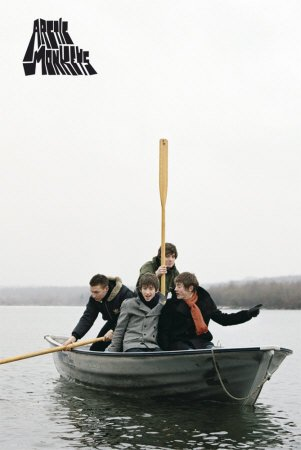 Arctic Monkeys - Poster Boat