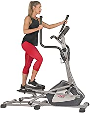 Sunny Health & Fitness Unisex Adult SF-E3957 Endurance Zone Cross Trainer Elliptical - Grey, One
