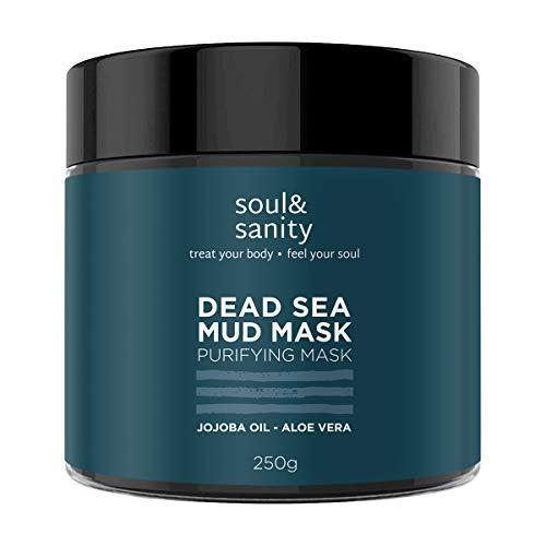 Dead Sea Mud Mask mit Aloe Vera und Jojobaöl | Detox Maske | Gesichtsmaske | Purifying Mask | Maske gegen trockene und unreine Haut | Anti Aging | Anti Mitesser
