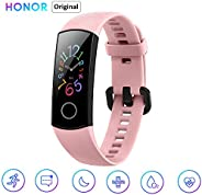 HONOR Band 5 Fitness Tracker Impermeabile Bluetooth Fitness Tracker con cardiofrequenzimetro, Display a Colori