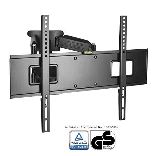 XOMAX XM-WH108 TV Wandhalterung für Plasma LCD LED TFT Fernseher I VESA 600x400 bis 100x100 I 32 bis 65 Zoll I verstellbar, neigbar, schwenkbar, ausziehbar I Tragfähigkeit bis max. 45 Kg