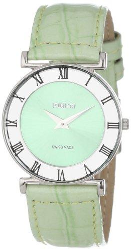 Jowissa - J2.020.M - Montre Femme - Quartz Analogique - Bracelet Cuir Vert