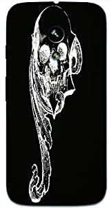 Timpax protective Armor Hard Bumper Back Case Cover. Multicolor printed on 3 Dimensional case with latest & finest graphic design art. Compatible with Motorola Moto -G-1 (1st Gen )Design No : TDZ-26787