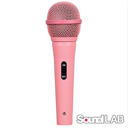 Dynamisches Mikrofon Rosa mit Audio Kabel von 4m