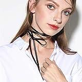 whc0815 Hermosa Popular Nuevos Accesorios Exagerados Personalidad Collarbone Collar Cadena De Metal Cadena De Cuello PU