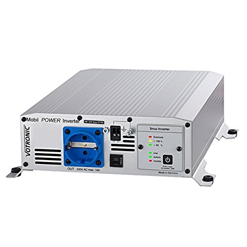 Preisvergleich Produktbild Votronic 3170 MobilPOWER SMI 1500 Sinus ST-NVS 12V 230V Spannungswandler