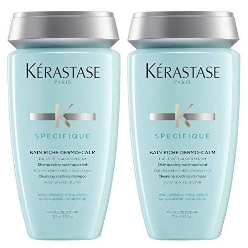 Bain Riche Shampoo (Kérastase Specifique dermo-calm Bain Riche Shampoo 250ml Duo)