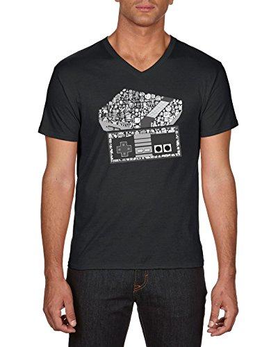touchlines-nes-konsole-arcade-t-shirt-homme-noir-black-13-medium