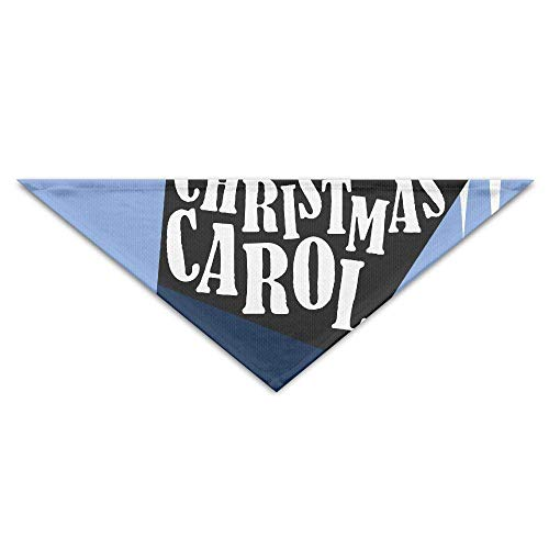 Gxdchfj Christmas Carol Hat Turban Triangle Scarf Bib Scarf Accessories Pet Cat and Baby Puppy Saliva Dog Towel -
