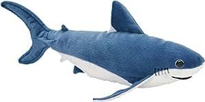 Peluche Requin bleu - 38 cm