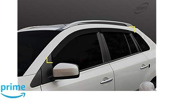 4 pieces Autoclover Wind Deflectors Set for Renault Koleos 2008-2015