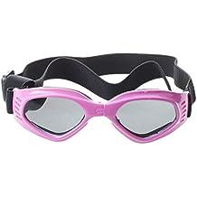 SODIAL(R)Gafas de sol con marco rosado para Perro para Proteccion UV
