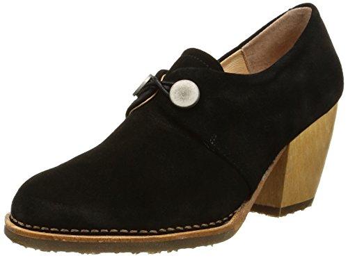 NeosensVerdil 510 - Stivali alla caviglia Santiags Donna , Nero (Black (nero)), 38 EU