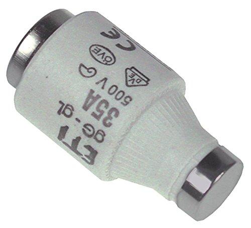 Sicherung Länge 50mm ø 27mm E33 Größe DIII 500V 35A VPE 5 Stück -