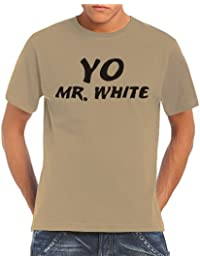 Touchlines Herren T-Shirt - Yo Mr. White