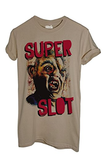 T-Shirt SUPERSLOT THE GOONIES - FILM by MUSH Dress Your Style - Uomo-L-SABBIA