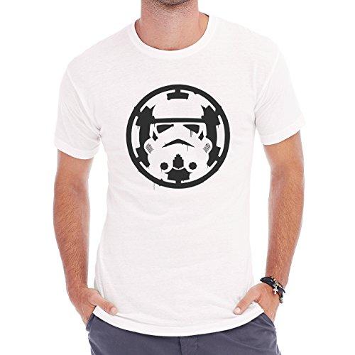 First Order Symbol Blooded By Trooper Star Wars Herren T-Shirt Weiß