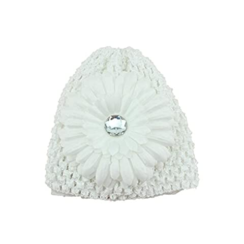 hunpta New Flower Toddlers Infant Baby Girl Lace Hair Band Headband Headwear Hat (White)