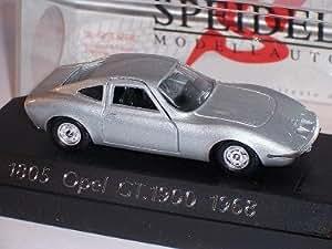 Solido Opel Gt 1900 Gt1900 1968 Argent Coupe 1/43 Solido Voiture Modèle
