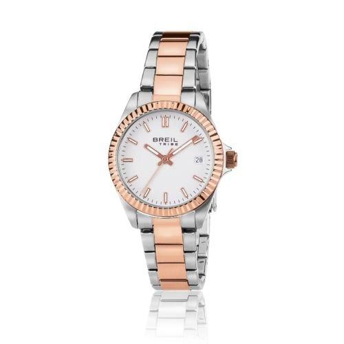 Reloj de la mujer sólo el acero del color del doble de tiempo Breil EW0240 4a7715a99e6b