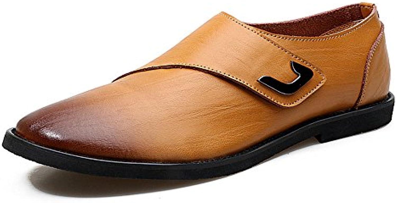 Männer Casual Lederschuhe Mode Business Schuhe Alltag  Billig und erschwinglich Im Verkauf