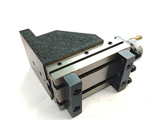 Toolpost - Mini slitta verticale (90x 50mm), per operazione di fresatura istantanea su tornio.