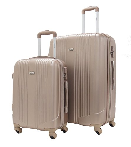Set de 2 valises Cabine et Grande - Alistair Airo - ABS
