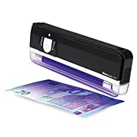 Safescan 40H - Portable UV counterfeit detector for the verification of banknotes - Suitable for polymer notes including the new £20