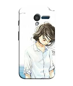 99Sublimation Designer Back Case Cover For Motorola Moto X :: Motorola Moto X (1st Gen) XT1052 XT1058 XT1053 XT1056 XT1060 XT1055 Sandess On Girl Face Design