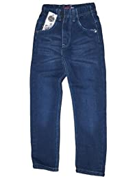 Thermojeans Thermohose Schneehose gefütterte Jungen Kinder Jeans warm Gr 110-152