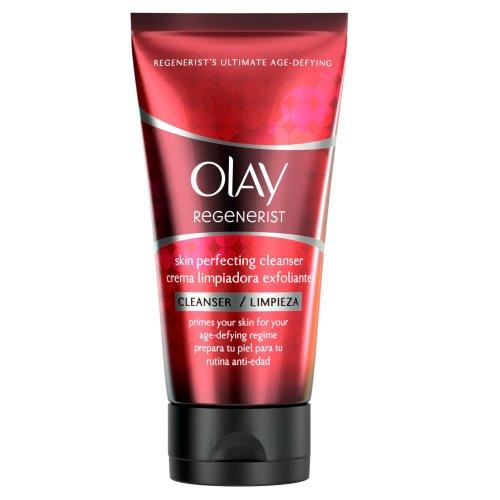 Olay - Regenerist, Detergente esfoliante in crema, azione anti-età, 150 ml