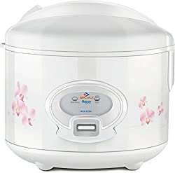 Bajaj Majesty New RCX21 Dlx 550-Watt Deluxe Multifunction Cooker (White)