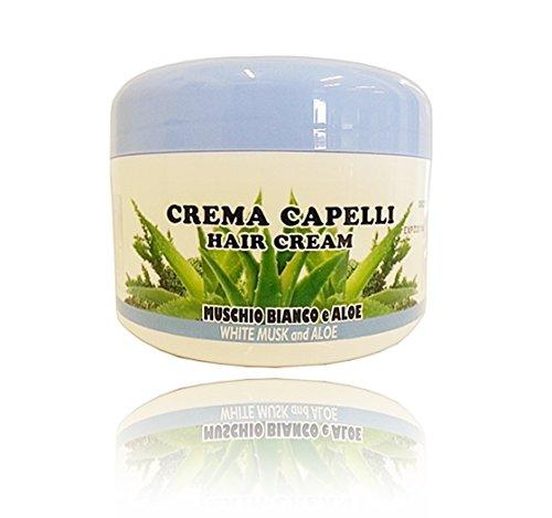 Suarez Zwerge Creme Haar Acetate Moschus weiß und Aloe 500ml -